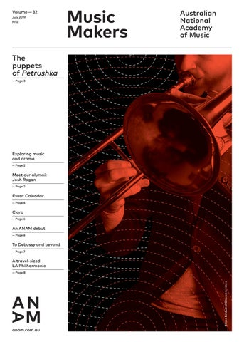 ANAM Music Makers Vol  32 by Australian National Academy of