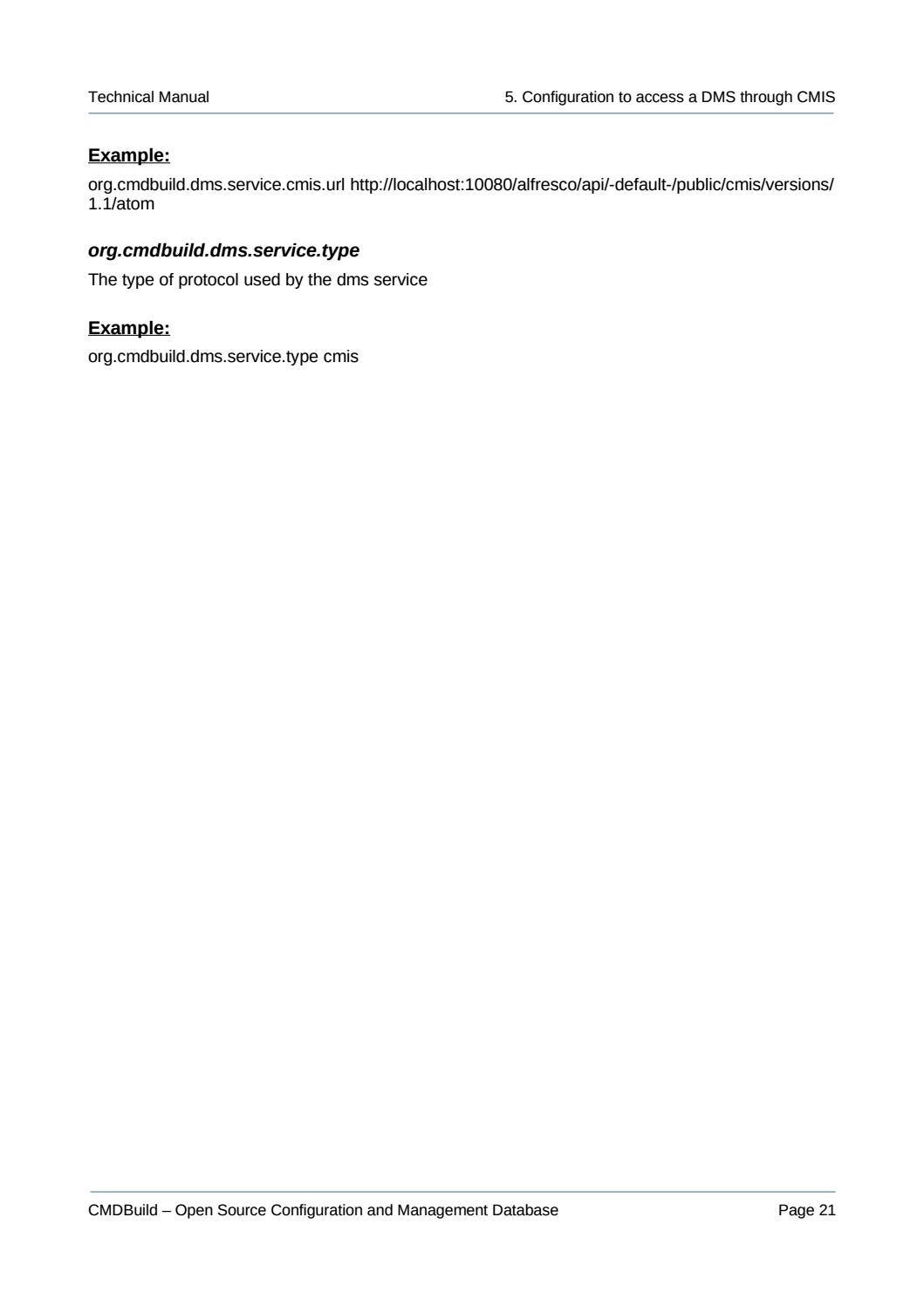 English CMDBuild Technical Manual by Tecnoteca srl - issuu