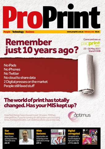 ProPrint February 2017 by The Intermedia Group - issuu