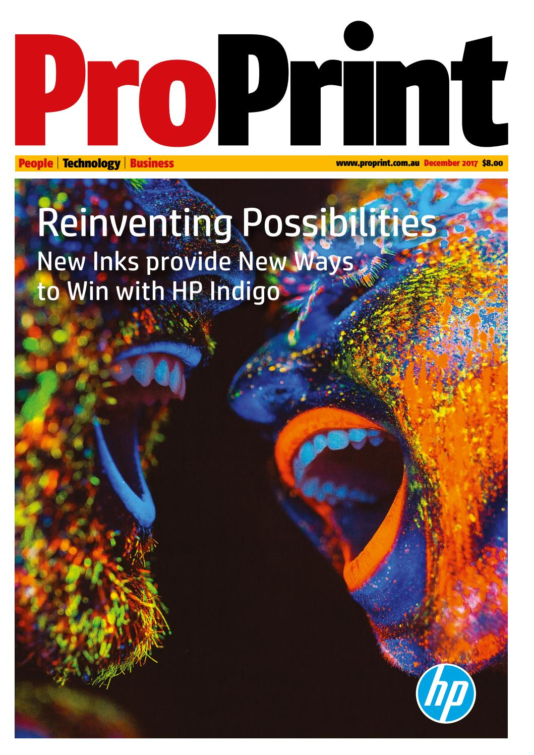 ProPrint December 2017 by The Intermedia Group - issuu