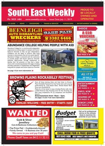 South East Weekly Magazine - July 11, 2019 by South East