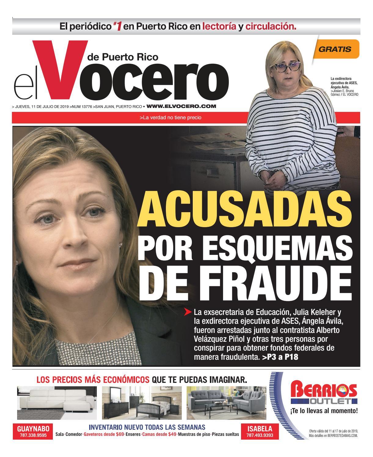 9b32bc1dc Edición del 11 de julio de 2019 by El Vocero de Puerto Rico - issuu