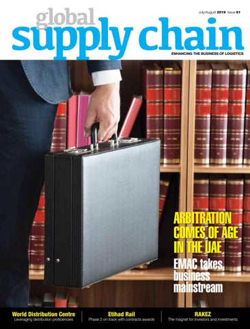 GLOBAL SUPPLY CHAIN JULY AUGUST 2019 ISSUE by GLOBAL SUPPLY