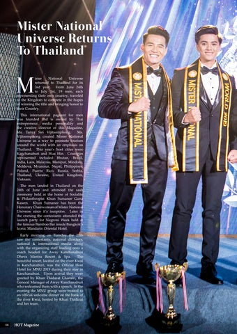 Page 66 of Mister National Univerese Returns To Thailand