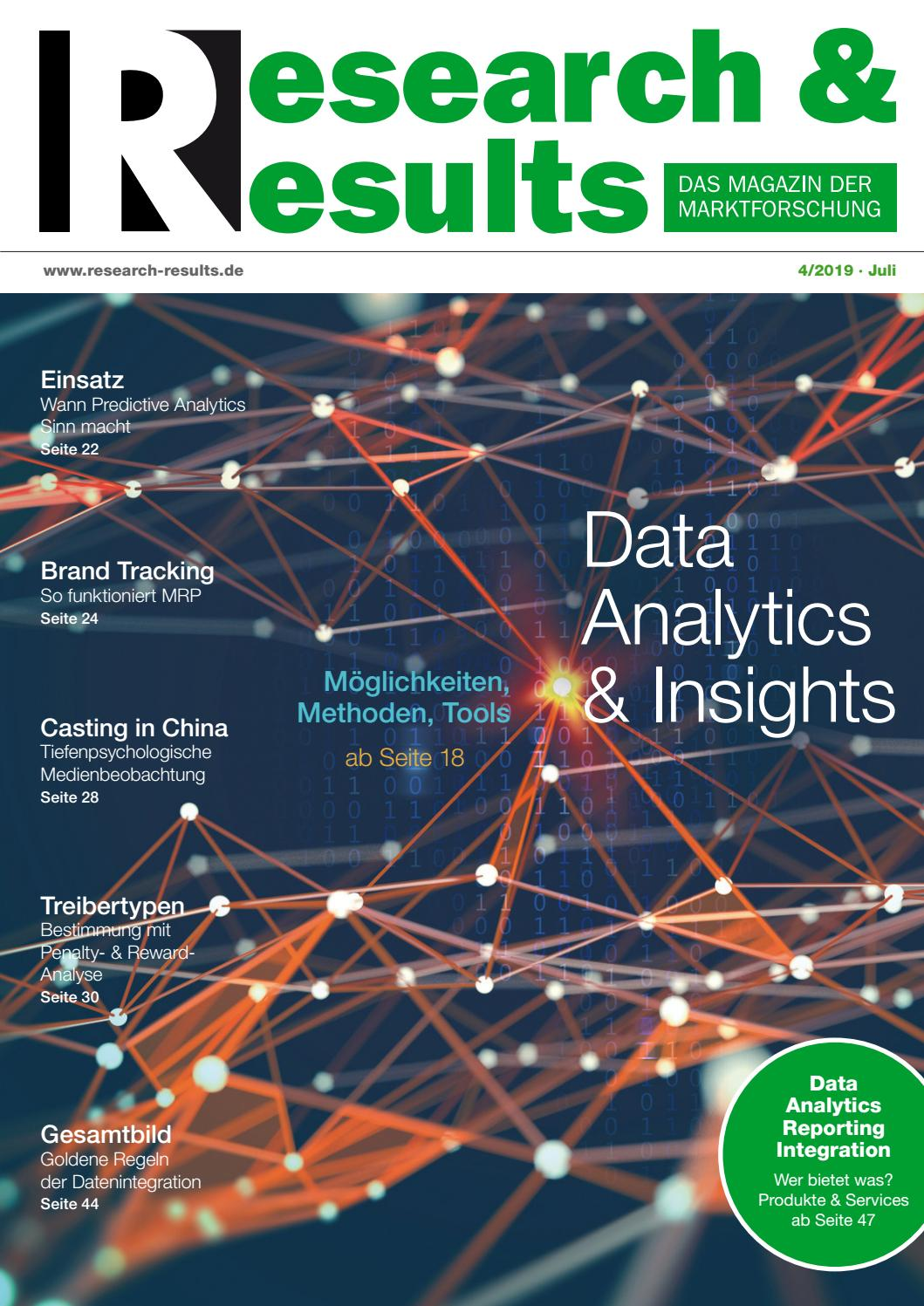 Research & Results 4/2019 by Research & Results - issuu