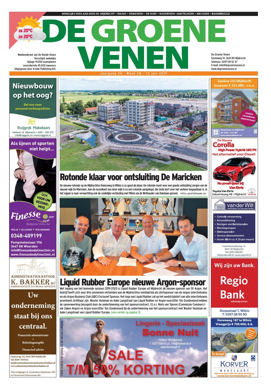 1653902f4d7ca8 De Groene Venen 12-07-2019 by De Groene Venen - issuu