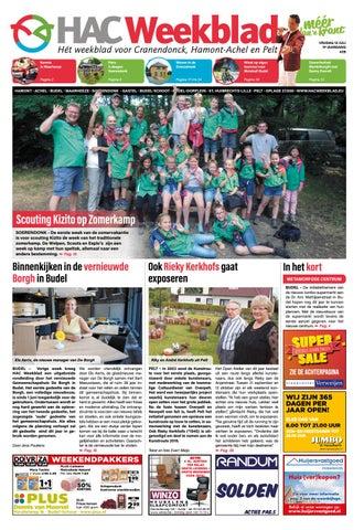 Hangmat Met Standaard Cranenbroek.Hac Weekblad Week 28 2019 Nl By Hac Weekblad Issuu