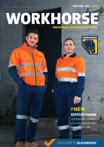 Workhorse Industrial Strength Apparel Catalogue by