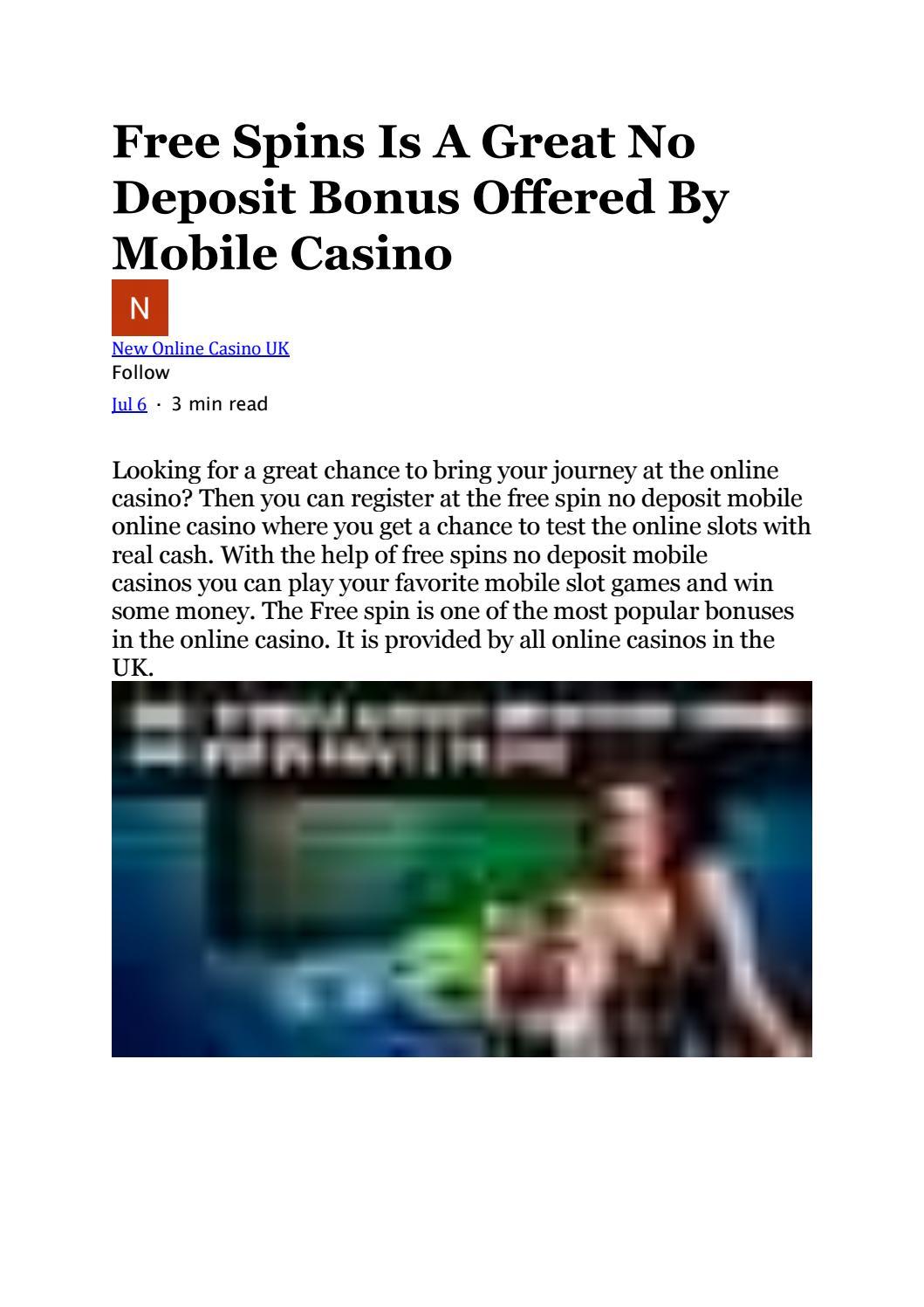 Online Casino No Deposit Bonus Uk