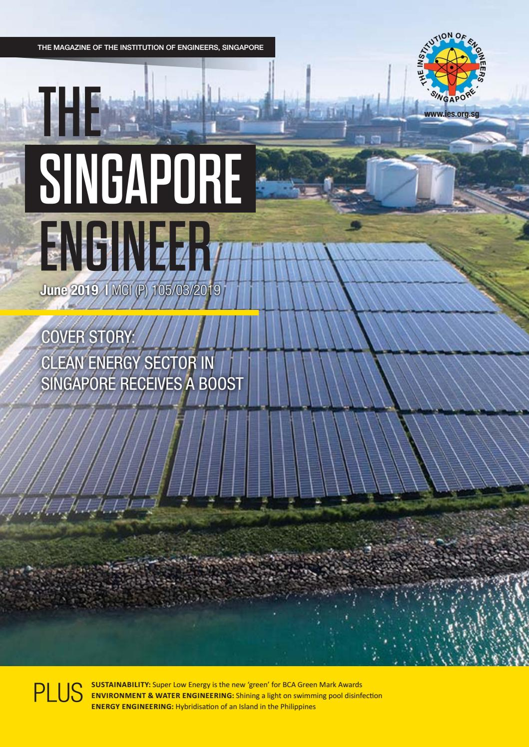 The Singapore Engineer June 2019 by The Singapore Engineer - issuu