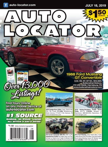 07-25-2019 Auto Locator by Auto Locator and Auto Connection - issuu