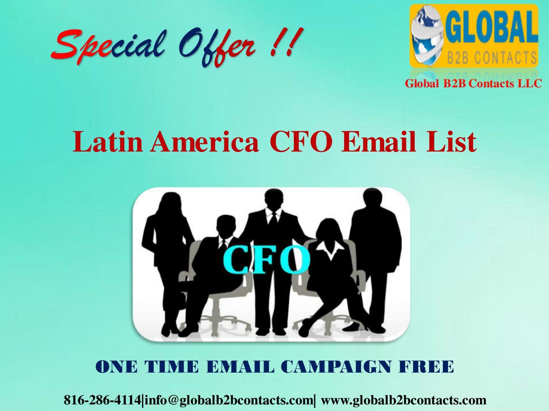 Latin America CFO Email List by Jessica Francis - issuu