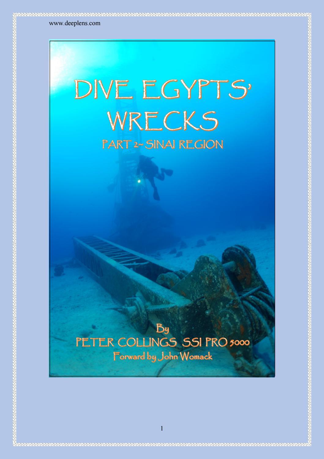 Dive Egypt Shipwrecks - Part 2 - Sinai Region (Hi Res