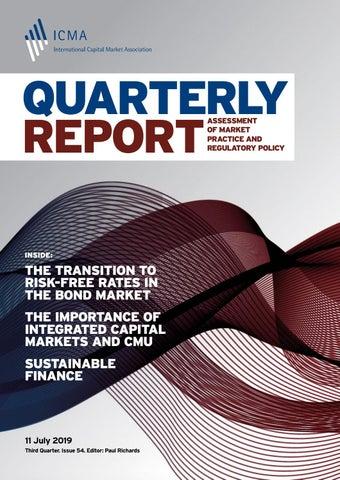 ICMA - Quarterly Report Third Quarter 2019 by ICMA - issuu
