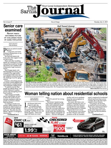 The Sarnia Journal - Thursday, July 11, 2019 by The Sarnia Journal