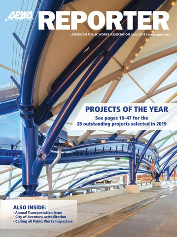 APWA Reporter, July 2019 issue by American Public Works