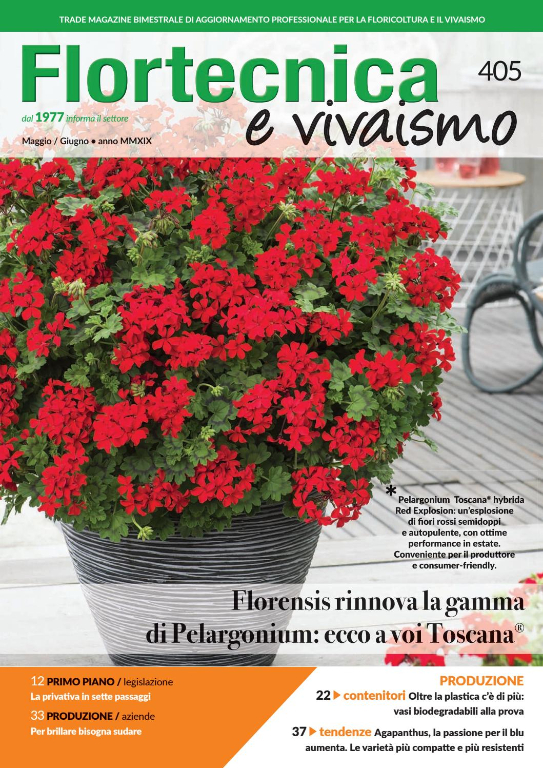 Produttori Vasi In Plastica.Flortecnica E Vivaismo N 405 By Edizioni Laboratorio Verde Issuu
