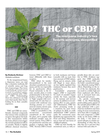 Page 18 of THC or CBD?