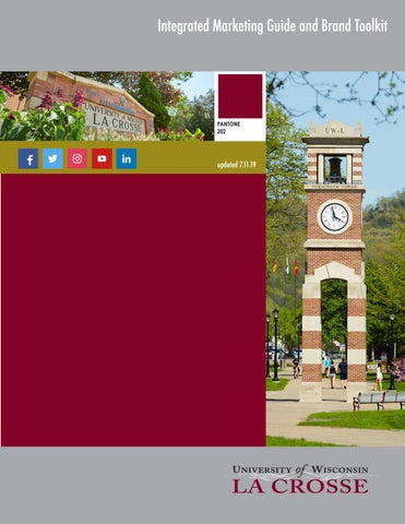 UW-La Crosse Integrated Marketing Guide and Brand Toolkit