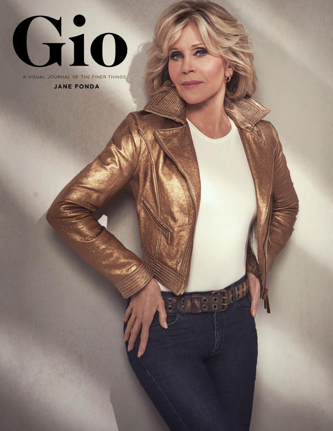 Gio Journal Issue 5 Jane Fonda By Giojournal Issuu