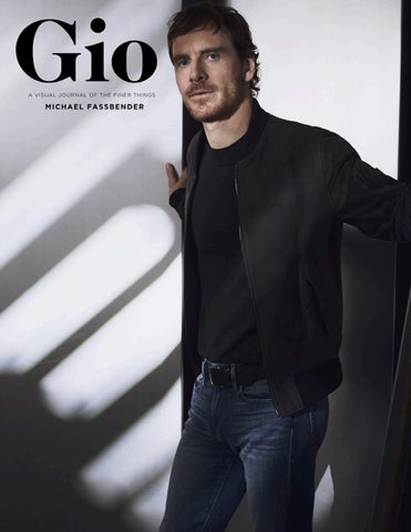 Gio Journal - Issue 5 - Michael Fassbender by giojournal - issuu
