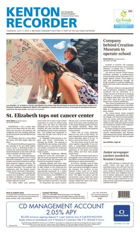 Campbell Recorder 07/25/19 by Enquirer Media - issuu