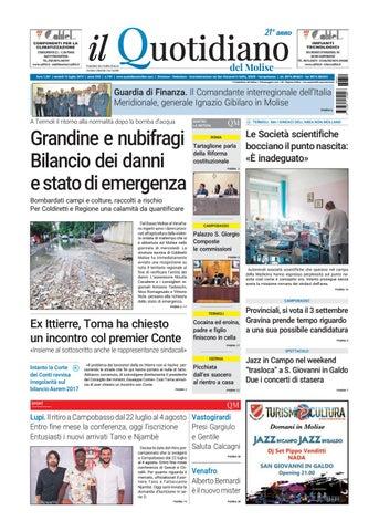Quotidiano del Molise 12-07-19 by redazionecb - issuu