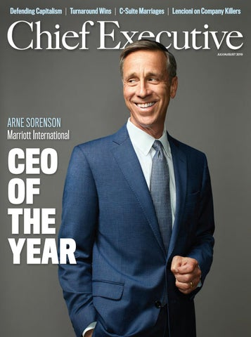 July/August 2019 Chief Executive Magazine by Chief Executive