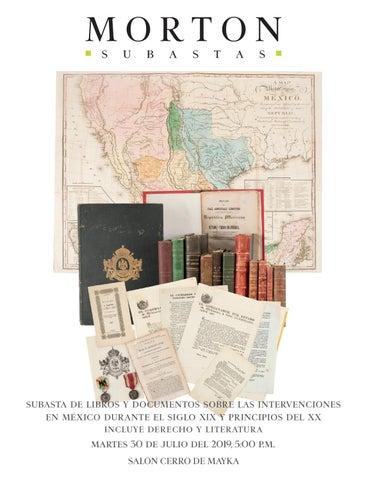 Subasta De Libros Y Documentos Sobre Las Intervenciones En