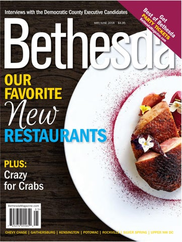 Bethesda Magazine: May-June 2018 by Bethesda Magazine - issuu