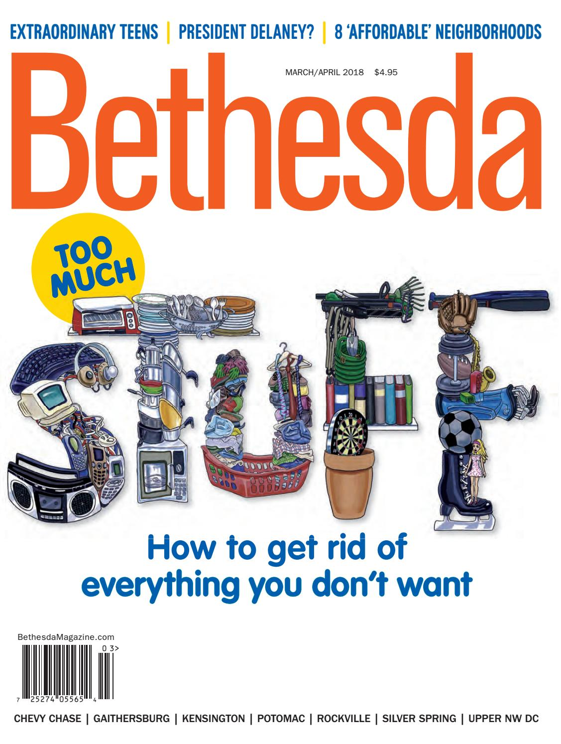 Bethesda Magazine: March-April 2018 by Bethesda Magazine - issuu