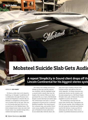 Page 62 of Tech Today: Mobsteel Suicide Slab Gets Audio Makeover