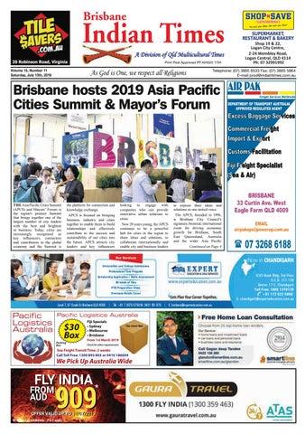Brisbane Indian Times July 2019 by Umesh Chandra issuu