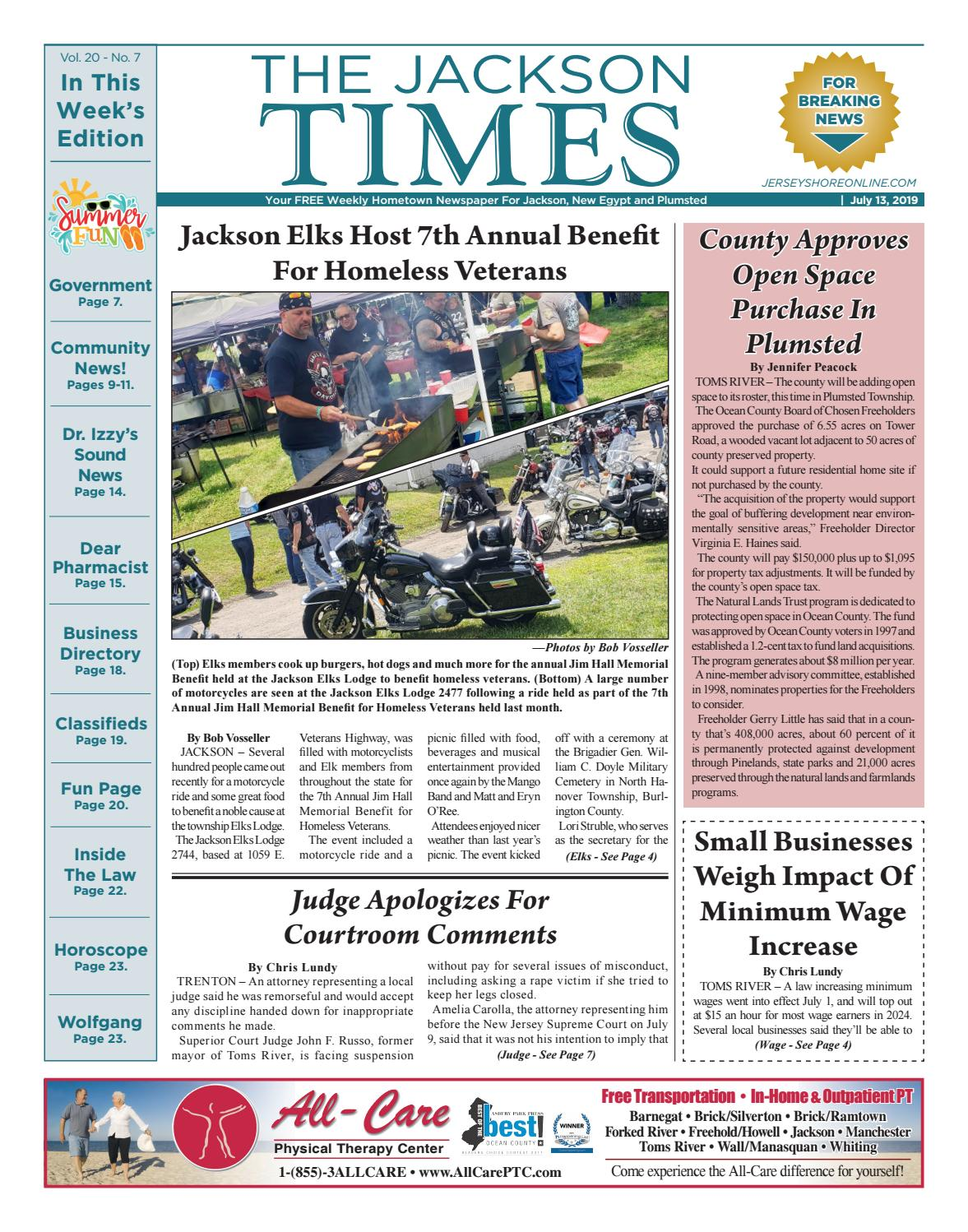 2019-07-13 - The Jackson Times by Micromedia Publications