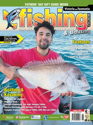 Queensland Fishing Monthly August 2019 by Fishing Monthly - issuu