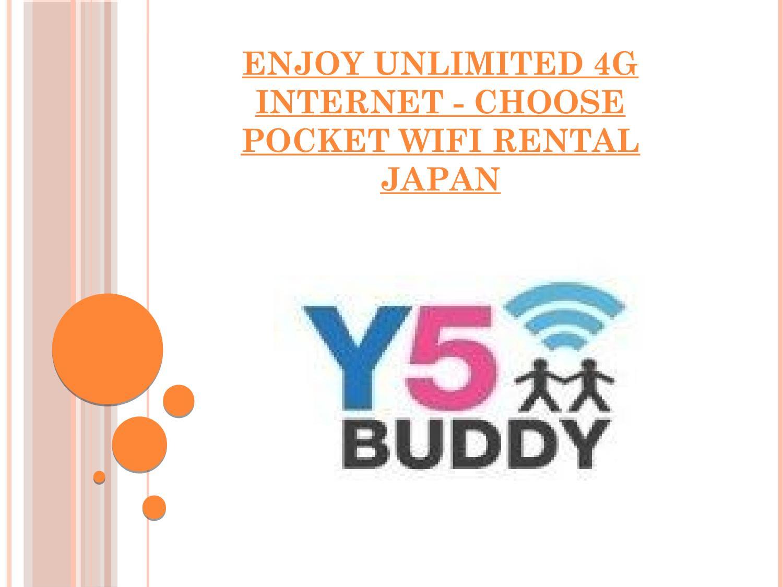 Enjoy Unlimited 4G Internet - Choose Pocket WiFi Rental