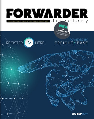 FORWARDER Directory by Freight Media Ltd  - issuu