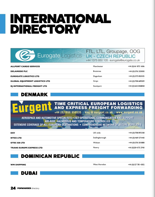 FORWARDER Directory