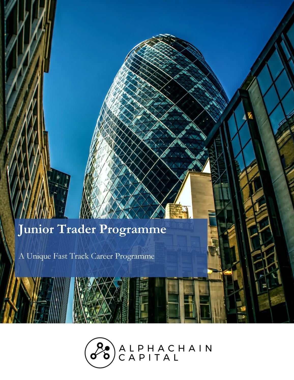 Madison : Junior trader programme
