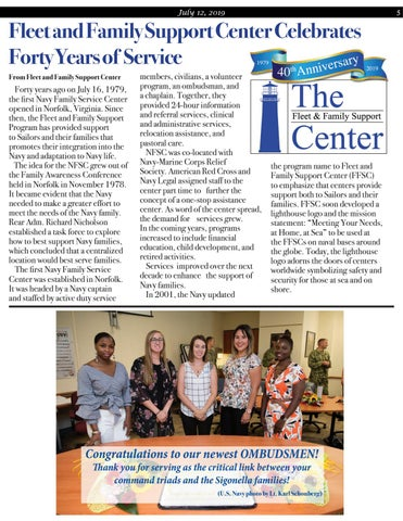 Page 5 of Fleet and Family Support Center Celebrates Forty Years of Service