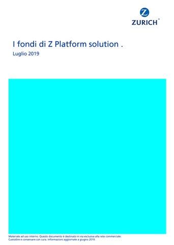 7429213a16 Z Platform Solution luglio 2019 by Morningstar Italy S.r.l. - issuu