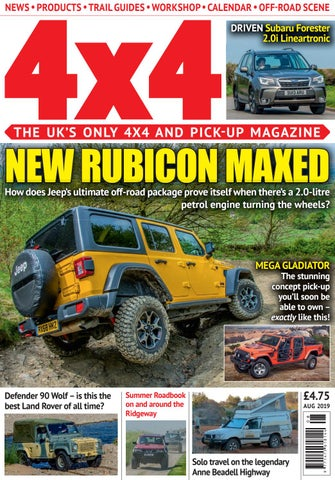 4x4 Magazine - August 2019 by Assignment Media Ltd - issuu