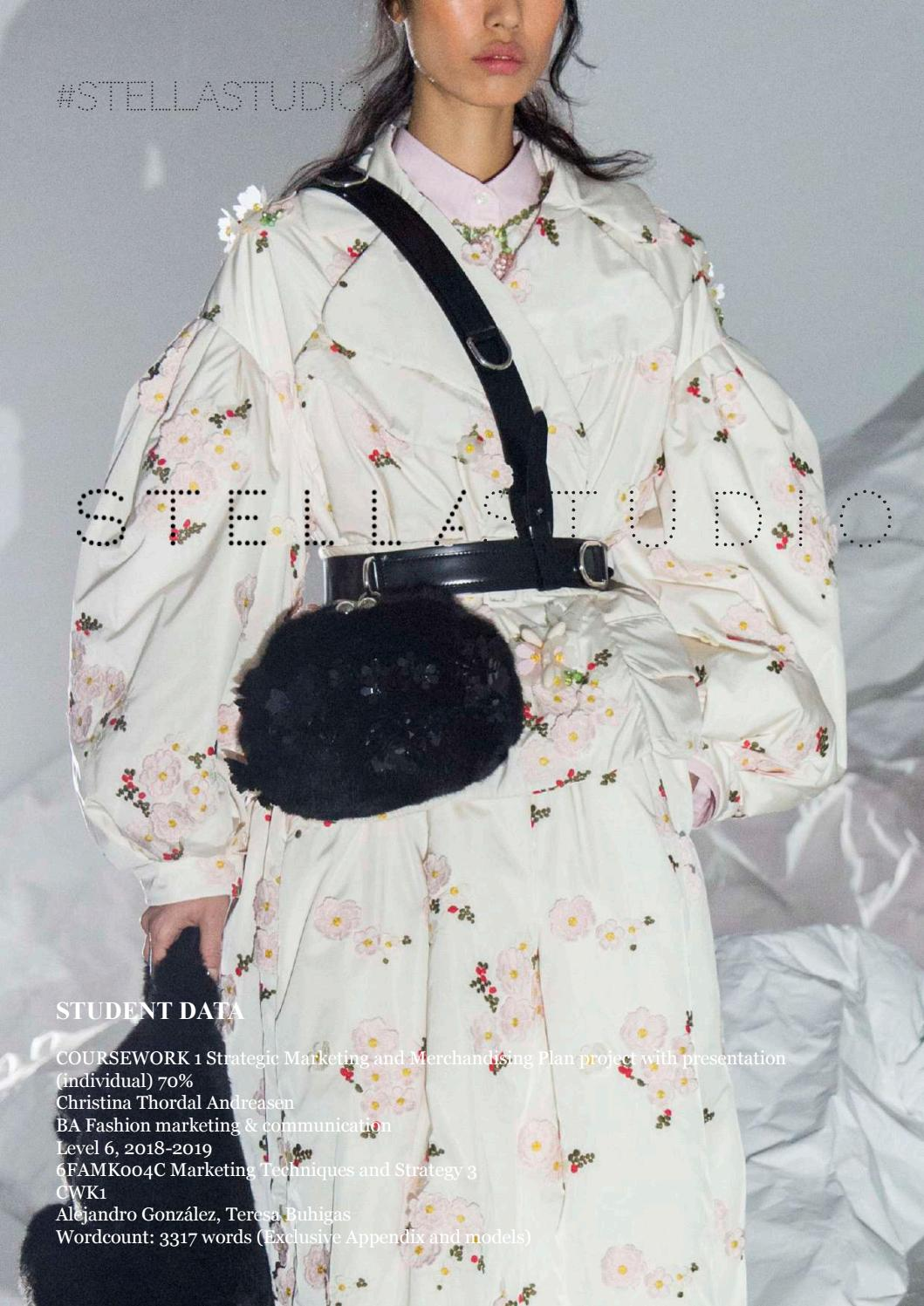 Marketing And Merchandising Plan Stella Mccartney By Christina Thordal Andreasen Issuu