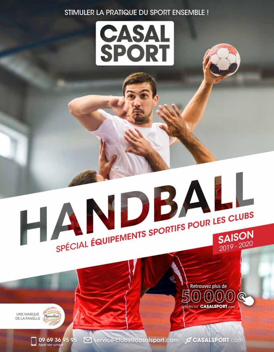 Catalogue Handball spécial Clubs 2019 by CASAL SPORT issuu