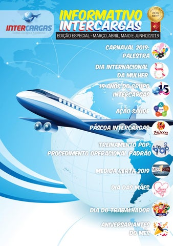 Page 1 of Informativo Intercargas MAR-JUN 2019