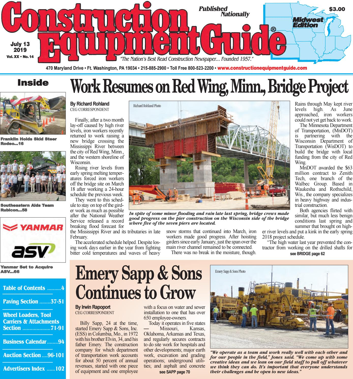 Midwest 14 July 13, 2019 by Construction Equipment Guide - issuu