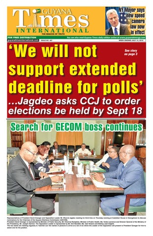 Guyana Times International 12-Jul-19 by Gytimes - issuu