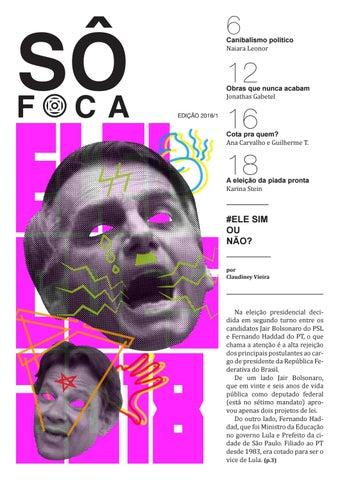 cel mai bun autentic ridica design de top Jornal SôFoca 2018.1 by Jornal SôFoca - issuu
