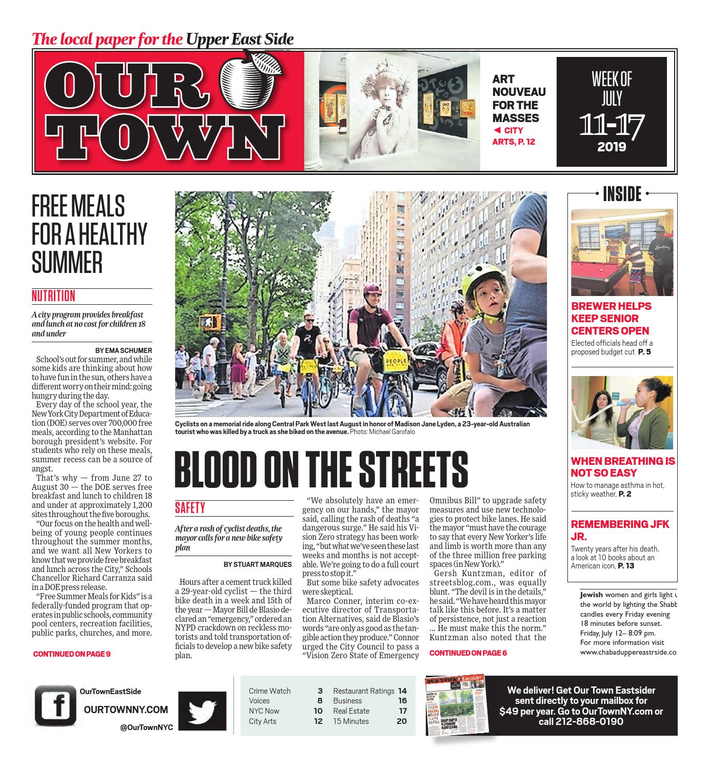 Our Town - July 11, 2019 by Our Town - issuu