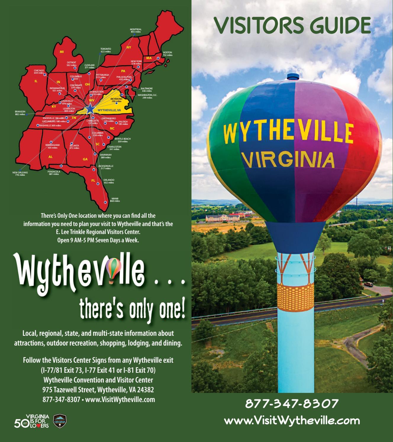 Visit Wytheville by Stallard Studios Publishing - issuu